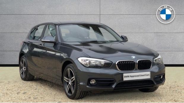 2017 BMW 118i Sport 5-door (Grey) - Image: 1