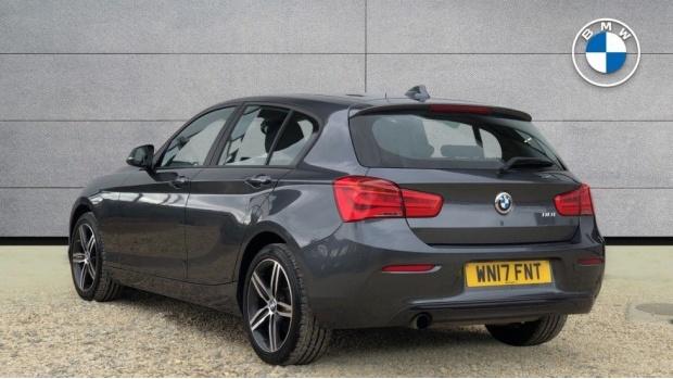2017 BMW 118i Sport 5-door (Grey) - Image: 2