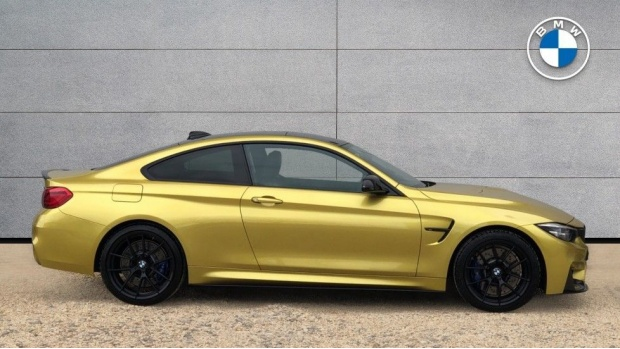 2018 BMW Coupe Competition Package (Yellow) - Image: 3