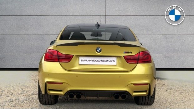 2018 BMW Coupe Competition Package (Yellow) - Image: 15