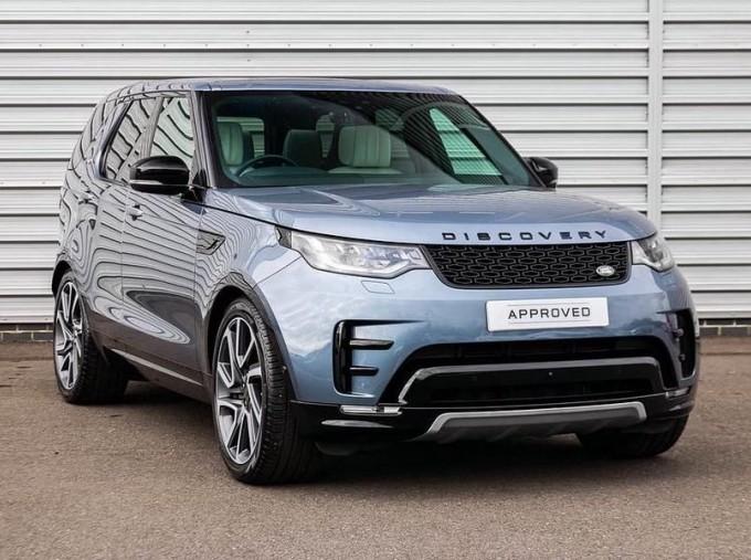 2020 Land Rover SD V6 HSE Luxury Auto 4WD 5-door (Blue) - Image: 1