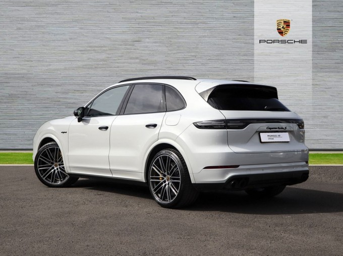 2020 Porsche TURBO S (White) - Image: 2