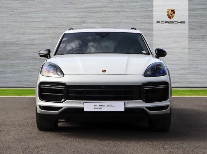 2020 Porsche TURBO S (White) - Image: 6