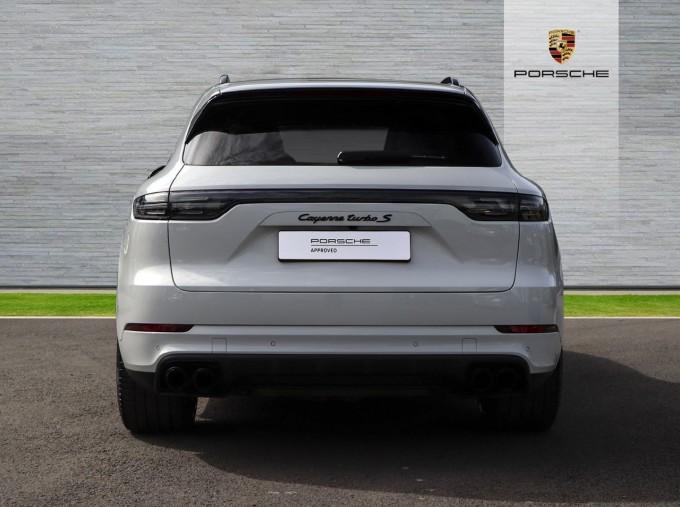 2020 Porsche TURBO S (White) - Image: 7