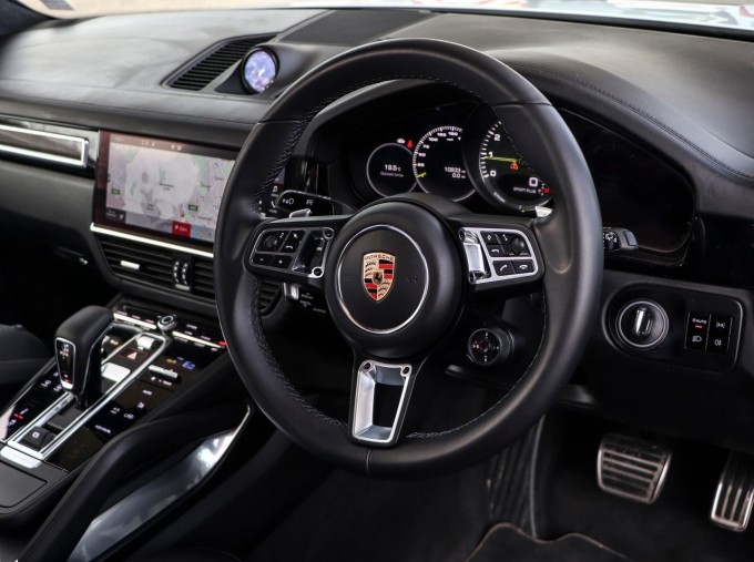 2020 Porsche TURBO S (White) - Image: 8