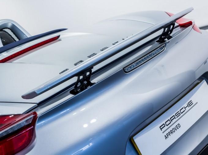 2015 Porsche 981 S PDK 2-door (Silver) - Image: 10