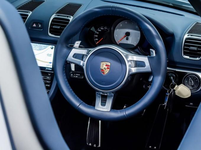 2015 Porsche 981 S PDK 2-door (Silver) - Image: 21