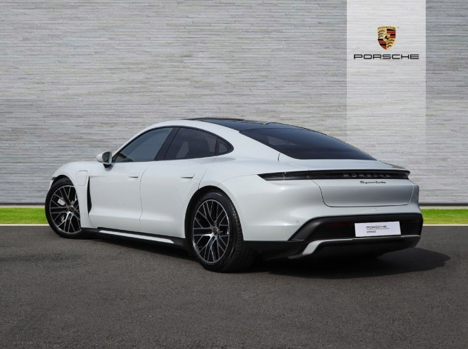 2020 Porsche 93.4kWh Turbo Auto 4WD 4-door (White) - Image: 2