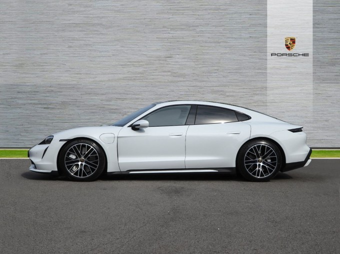 2020 Porsche 93.4kWh Turbo Auto 4WD 4-door (White) - Image: 5