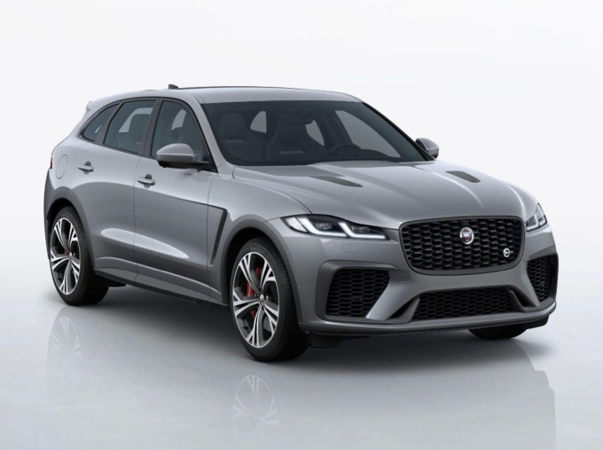 2021 Jaguar V8 SVR Quickshift 5-door (Grey) - Image: 1