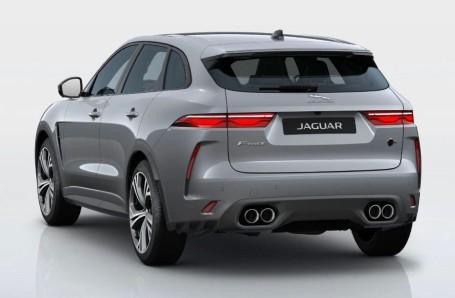 2021 Jaguar V8 SVR Quickshift 5-door (Grey) - Image: 3