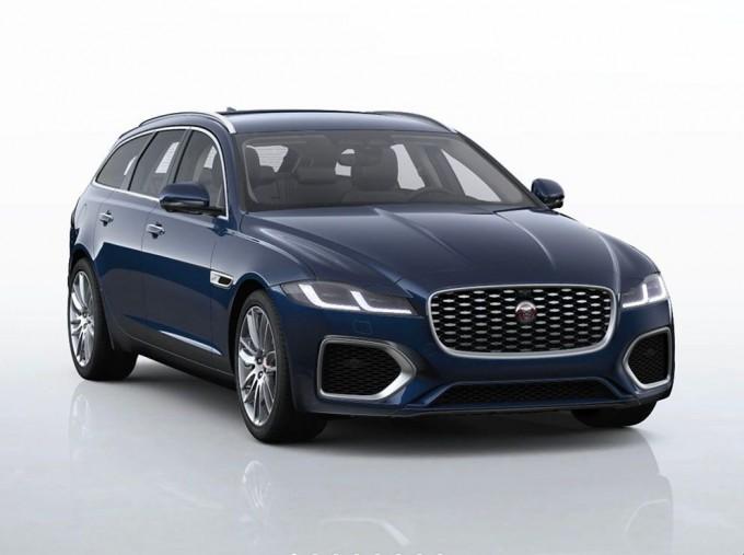 2021 Jaguar 2.0i SE Sportbrake Auto 5-door (Blue) - Image: 1