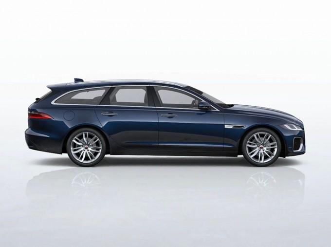 2021 Jaguar 2.0i SE Sportbrake Auto 5-door (Blue) - Image: 2