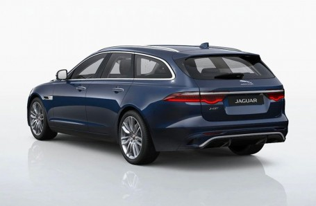 2021 Jaguar 2.0i SE Sportbrake Auto 5-door (Blue) - Image: 3