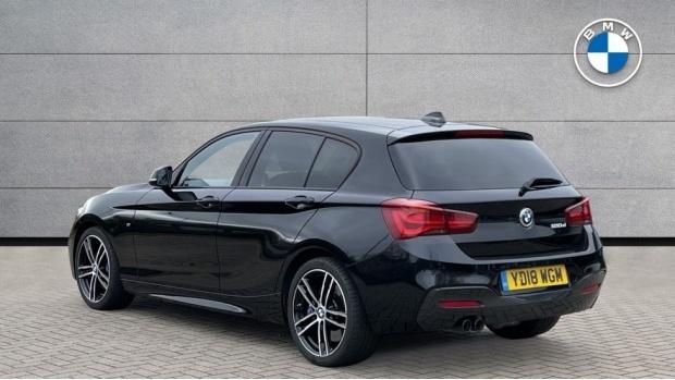 2018 BMW 120d M Sport Shadow Edition 5-door (Black) - Image: 2