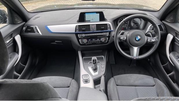 2018 BMW 120d M Sport Shadow Edition 5-door (Black) - Image: 4