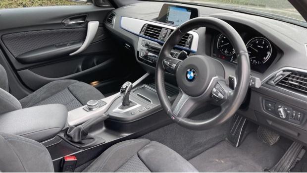 2018 BMW 120d M Sport Shadow Edition 5-door (Black) - Image: 6