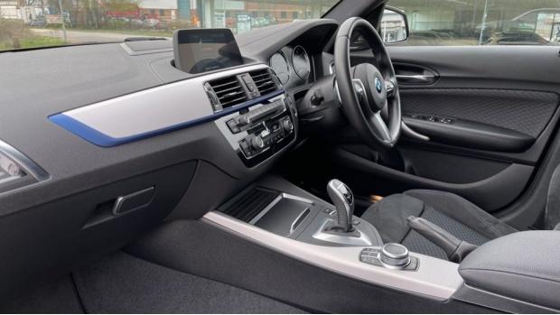 2018 BMW 120d M Sport Shadow Edition 5-door (Black) - Image: 7
