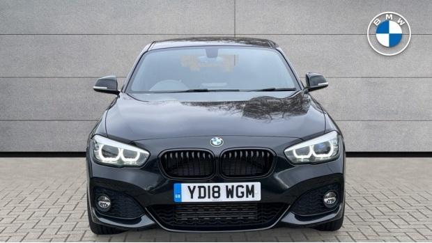 2018 BMW 120d M Sport Shadow Edition 5-door (Black) - Image: 16