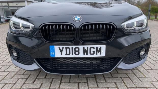 2018 BMW 120d M Sport Shadow Edition 5-door (Black) - Image: 28