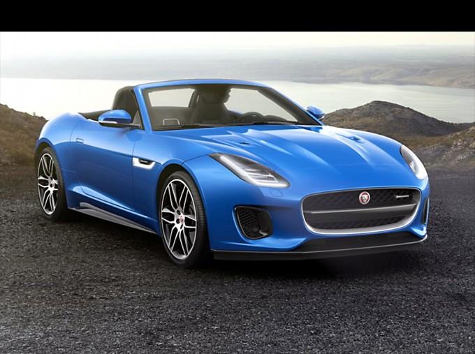 2021 Jaguar V6 R-Dynamic Auto 2-door (Blue) - Image: 1