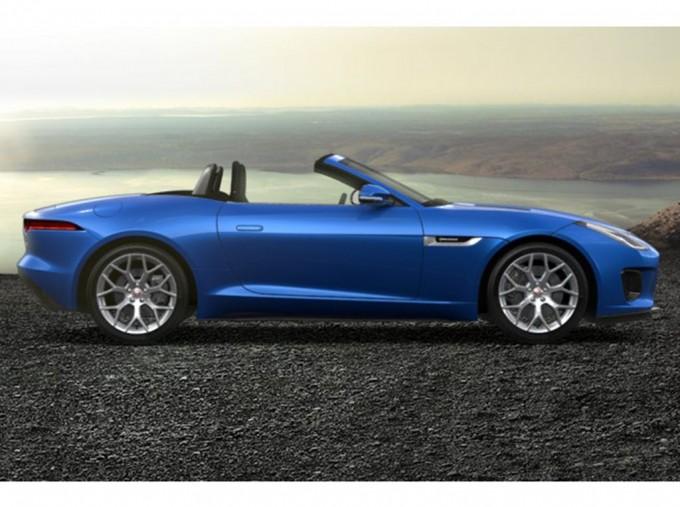 2021 Jaguar V6 R-Dynamic Auto 2-door (Blue) - Image: 2