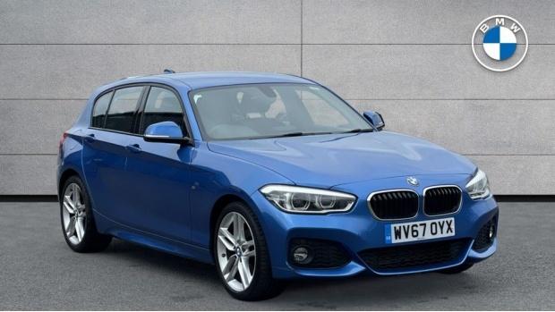 2017 BMW 116d M Sport 5-door (Blue) - Image: 1