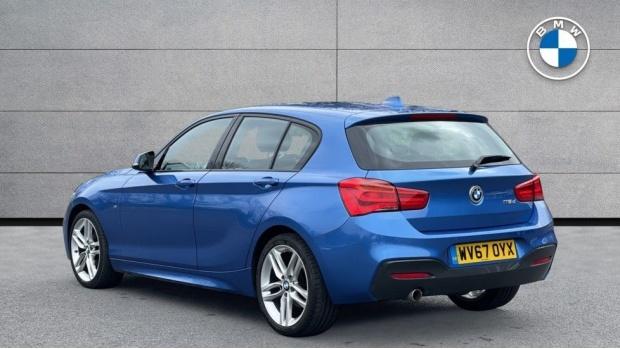 2017 BMW 116d M Sport 5-door (Blue) - Image: 2