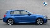 2017 BMW 116d M Sport 5-door (Blue) - Image: 3