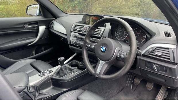 2017 BMW 116d M Sport 5-door (Blue) - Image: 6