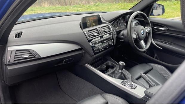 2017 BMW 116d M Sport 5-door (Blue) - Image: 7