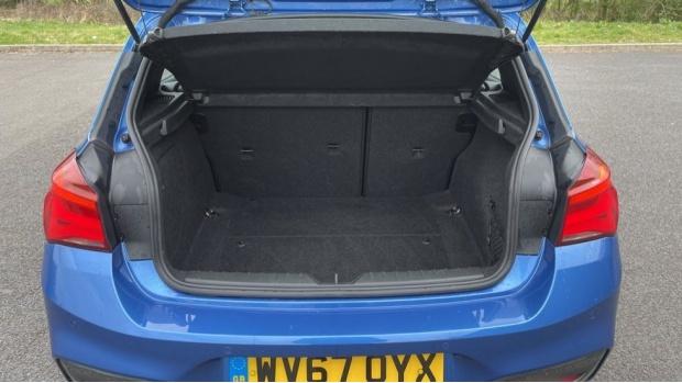2017 BMW 116d M Sport 5-door (Blue) - Image: 13