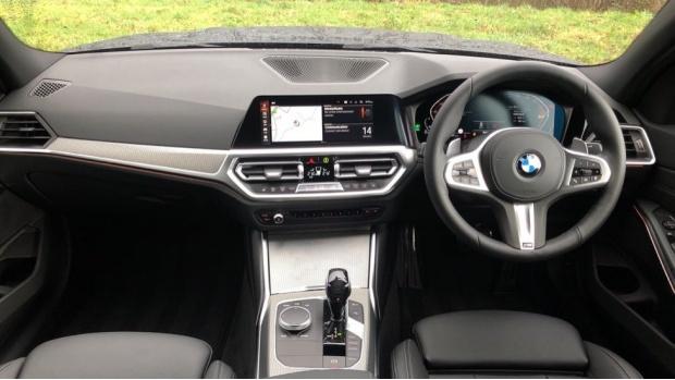 2021 BMW 320d M Sport Saloon (Grey) - Image: 4