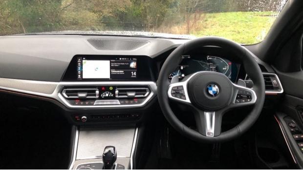 2021 BMW 320d M Sport Saloon (Grey) - Image: 5