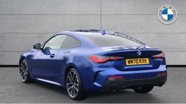 2021 BMW 420d M Sport Coupe (Blue) - Image: 2