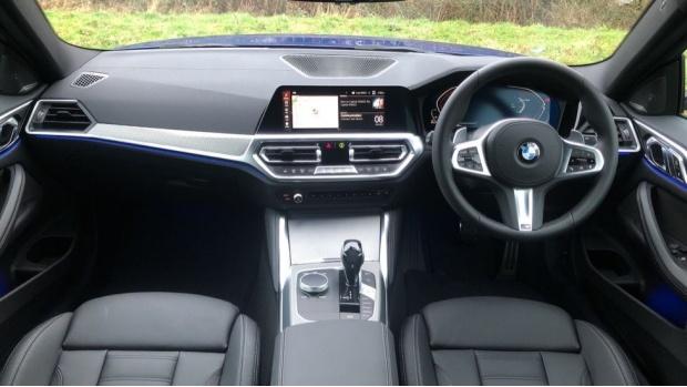 2021 BMW 420d M Sport Coupe (Blue) - Image: 4