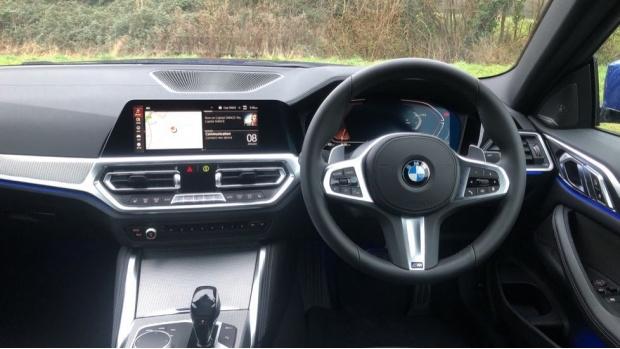 2021 BMW 420d M Sport Coupe (Blue) - Image: 5
