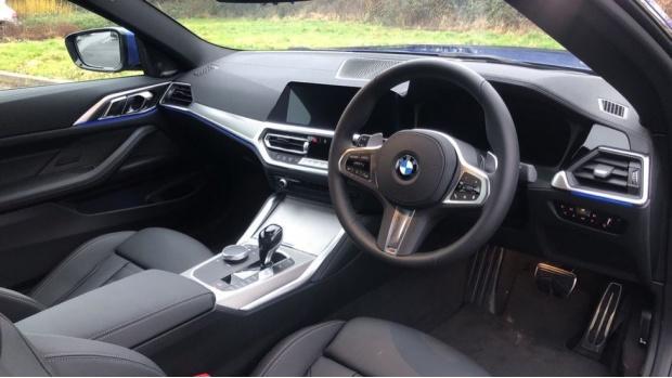 2021 BMW 420d M Sport Coupe (Blue) - Image: 6