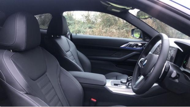 2021 BMW 420d M Sport Coupe (Blue) - Image: 11
