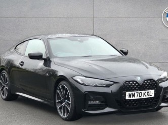 Reserve your 2021 BMW 4 Series 420d M Sport Coupe