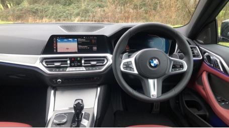 2021 BMW 420d M Sport Coupe (Black) - Image: 5