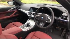 2021 BMW 420d M Sport Coupe (Black) - Image: 6