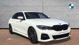 2019 BMW 320d M Sport Saloon (White) - Image: 1