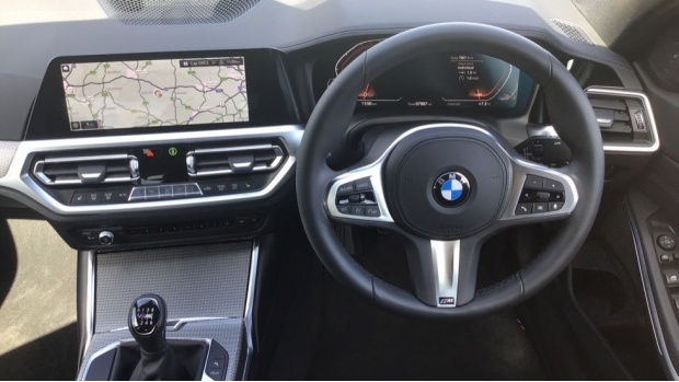2019 BMW 320d M Sport Saloon (White) - Image: 5