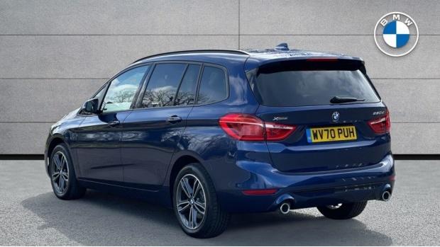 2020 BMW XDrive Sport Gran Tourer (Blue) - Image: 2
