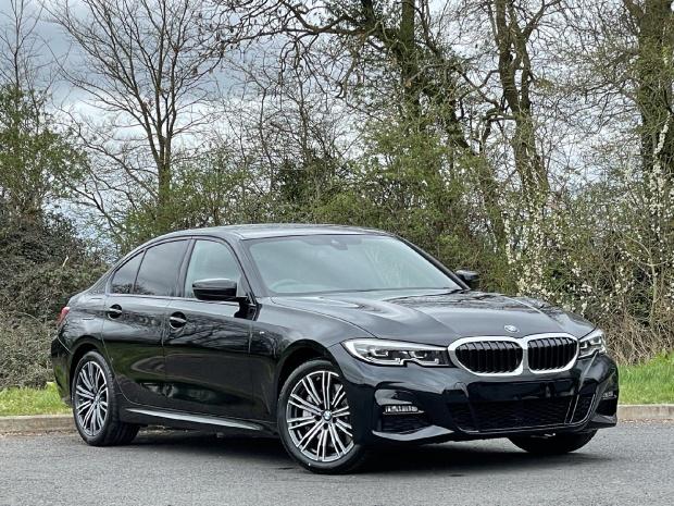 2021 BMW 330e 12kWh M Sport Auto 4-door (Black) - Image: 1