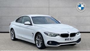 2018 BMW 4 Series 420d Sport Coupe 2-door