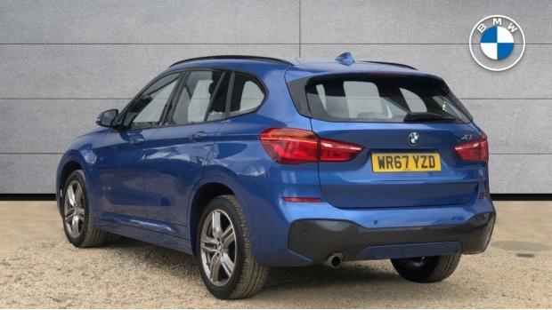 2017 BMW SDrive18d M Sport (Blue) - Image: 2