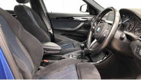 2017 BMW SDrive18d M Sport (Blue) - Image: 6