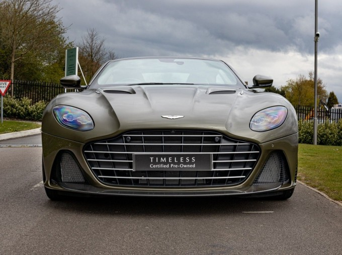 2020 Aston Martin V12 BiTurbo Superleggera OHMSS Auto 2-door (Green) - Image: 25